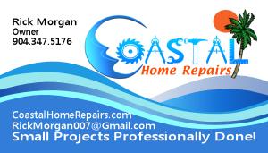 Jacksonville Home Repair Business Card